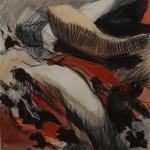 "Drawing, 2012, 15 x 14"""