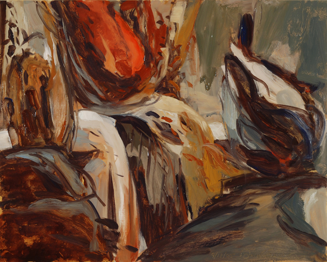 Oil Study- With Solitaries