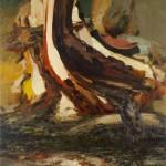 "Untitled, 3/2012, Oil on canvas on panel, 72 x 63""."